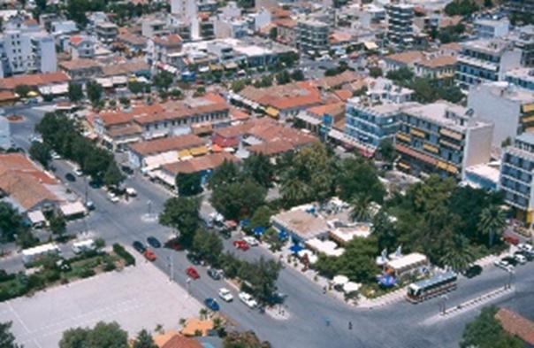The city of Lavrio