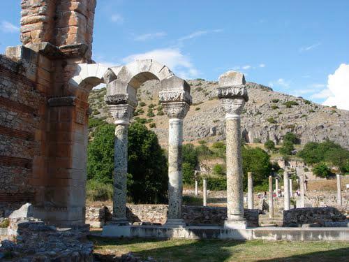 Ruins of the ancient city Filippi