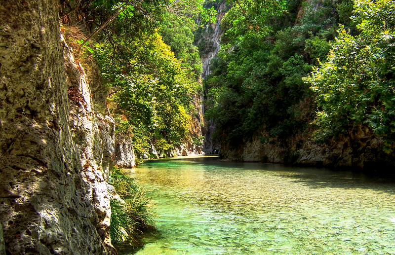 Acherontas river headwaters