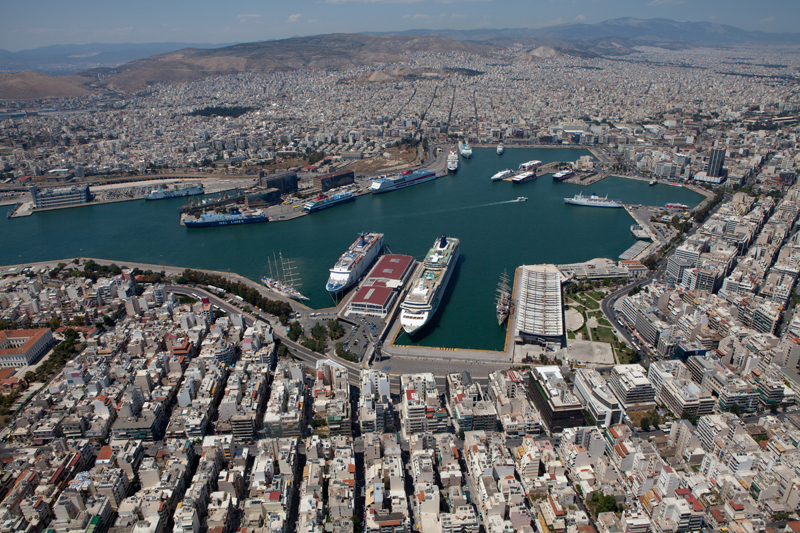 General view of Piraeus