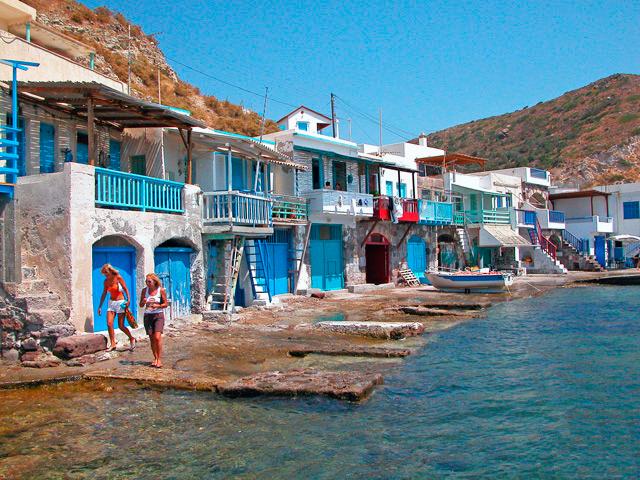 Village Klima at Milos