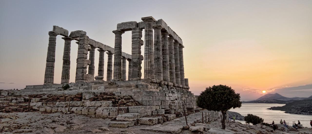 Sounio, The Poseidon temple