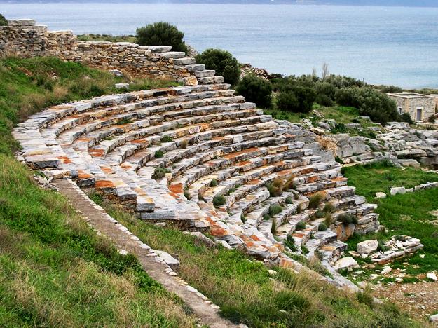 The ancient theatre of Thoriko