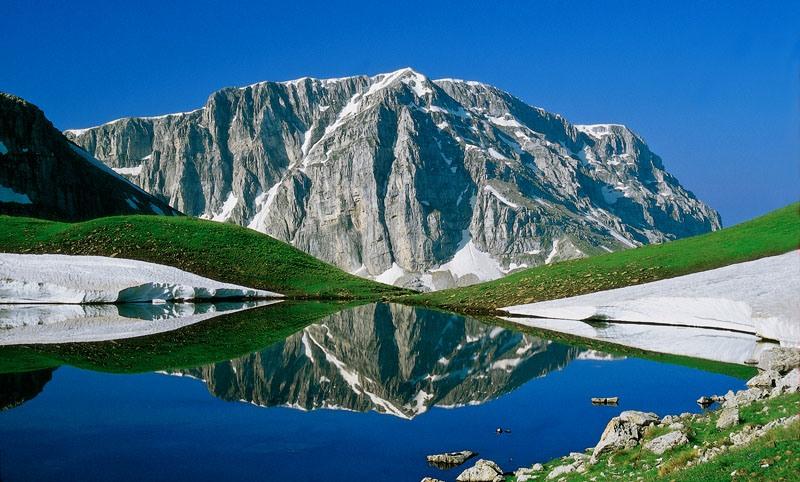 On the mountains of Zagori