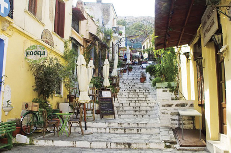 Plaka graphical street