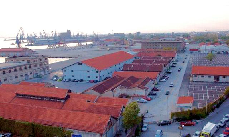 Thessaloniki port