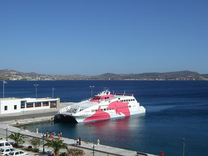 Port of Milos