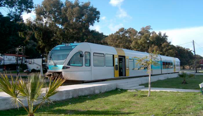 Fast train to ancient Olympia