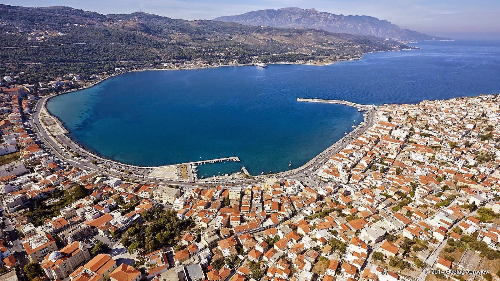 Town of Samos