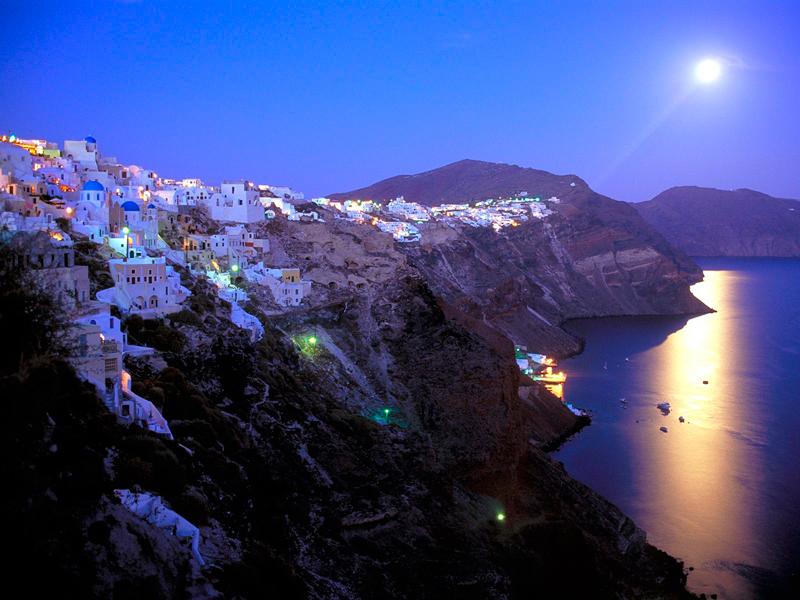 Santorini overview