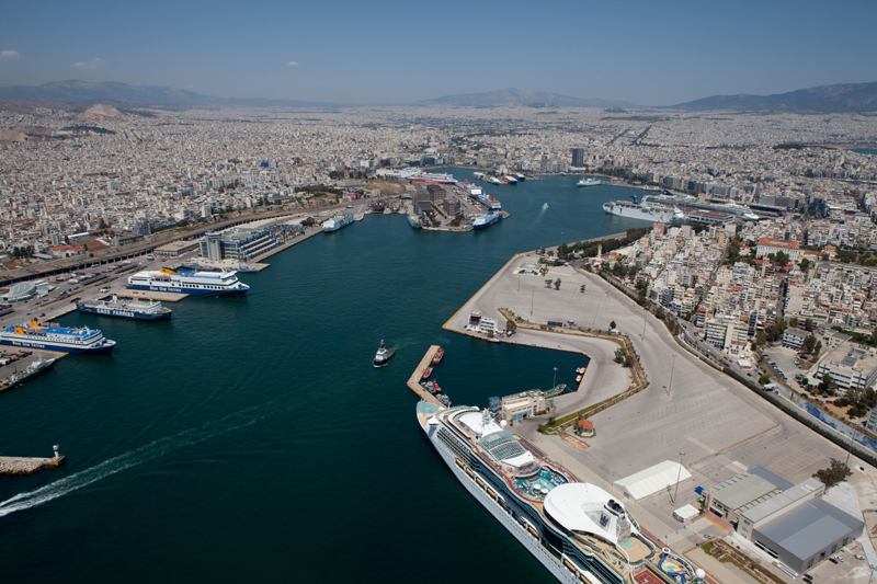 Cruise and passenger port