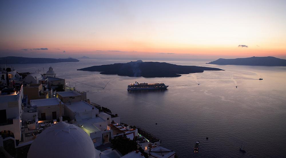 Port of Thira - Santorini