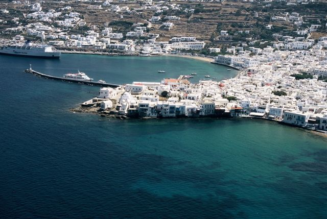 Mykonos - Castle and Small Venice