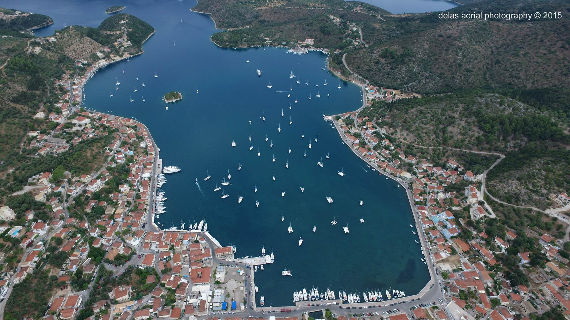 Port of Ithaka - Vathi