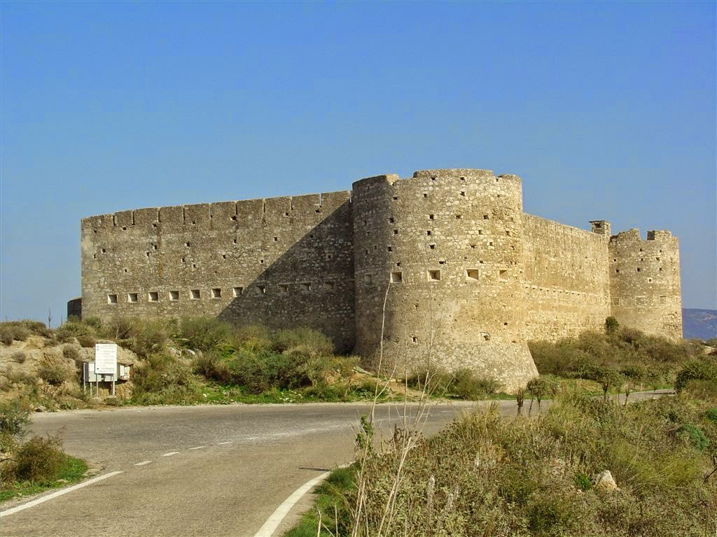 Aptera -an ancient city, now an archaeological site in western Crete