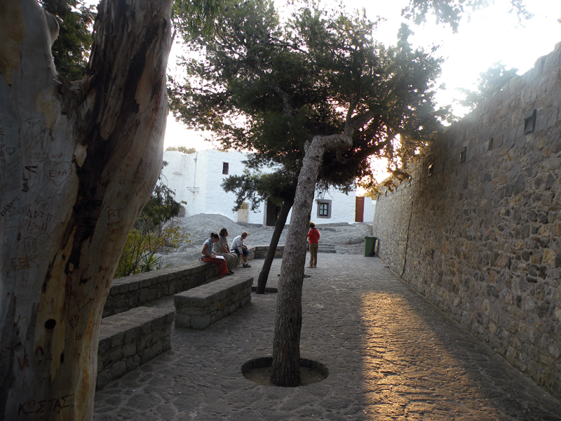 In the streets of Patmos