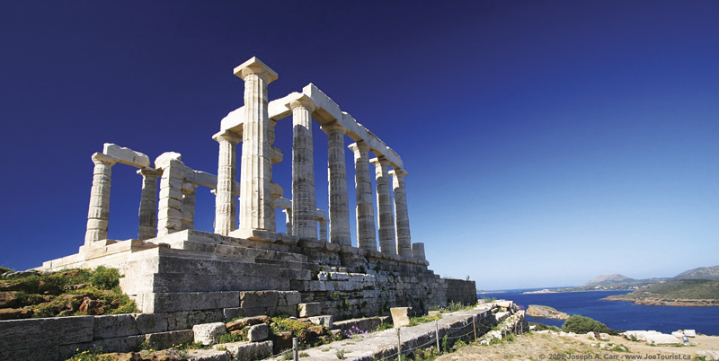 Sounion temple of Poseidon